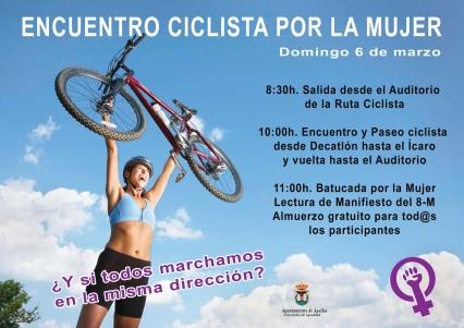 cartel 6 de marzo bici