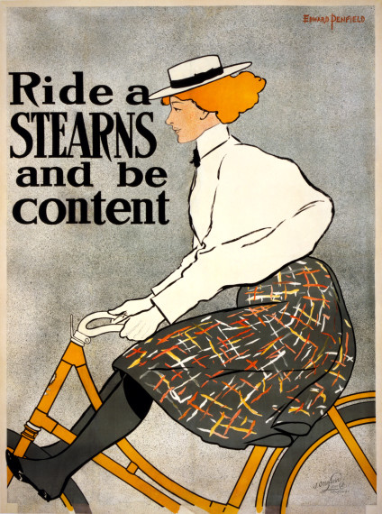 Ride_a_Stearns_and_be_content_bicycle_advertising_poster_1896-424x570