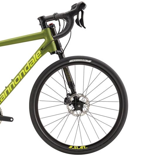 Cannondale-Slate-105-Adventure-Road-Bike-2016-Leftie-fork-disc-handlebars